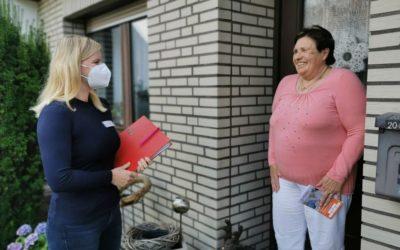 NOZ | Wieder daheim leben: So hilft Anna Humbert der Lingener Seniorin Jutta Schulz